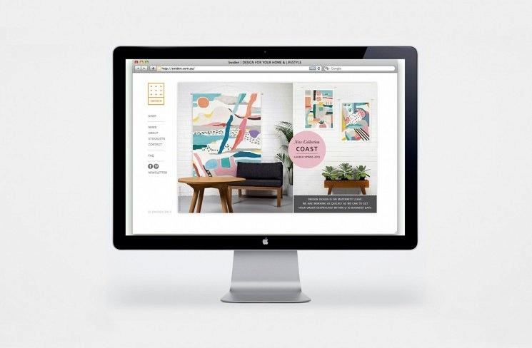 WEBSITE FOR SWIDEN HOMEWARE - Image 1