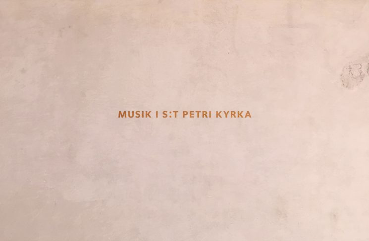 MUSIK I S:T PETRI KYRKA - Image 1