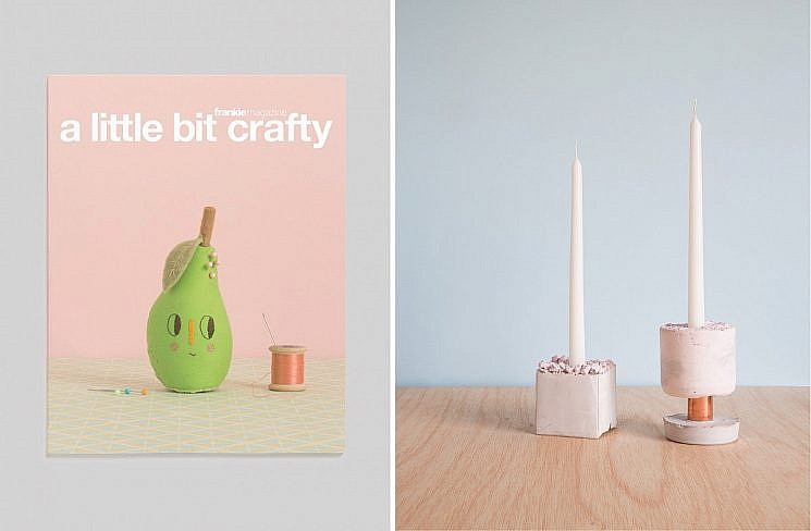 """CANDLE HOLDERS FOR FRANKIE MAGAZINE, """"A LITTLE BIT CRAFTY"""" - Image 1"""